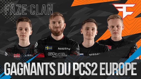 PUBG FaZe Clan PCS2 Europe