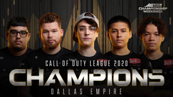 Call of Duty League 2020 - Dallas Empire Championship Weekend