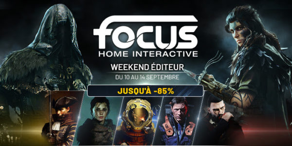 Focus Home Interactive Weekend Éditeur Steam Septembre 2020
