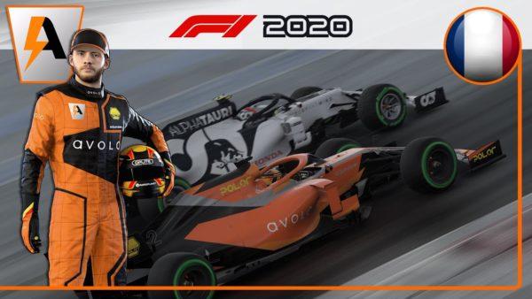 F1 2020 - My Team #10 : LA PLUIE, NOUVEAU PIÈGE ?