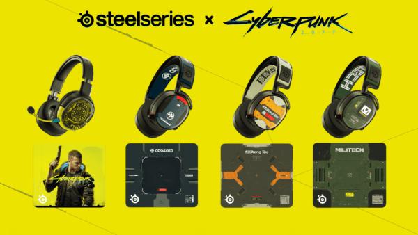 SteelSeries x Cyberpunk 2077 – Arasaka, Militech, Kang Tao