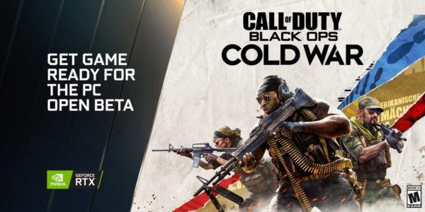 NVIDIA beta de Call of Duty : Black Ops Cold War