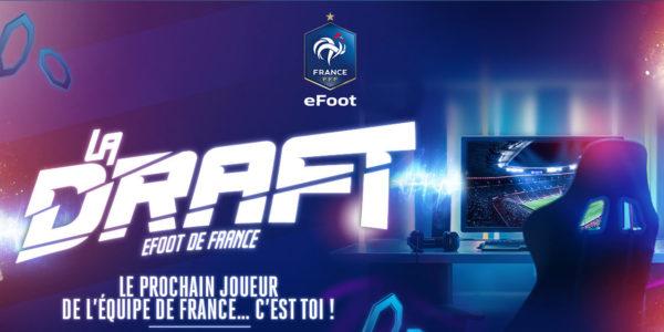 La Draft eFoot de France FFF Fédération Française de Football World Gaming Federation WFG Playce