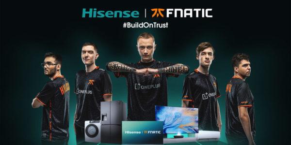 Hisense x Fnatic