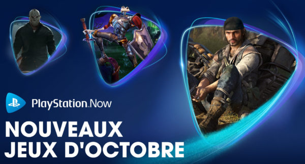 PS Now PlayStation Now - Octobre 2020