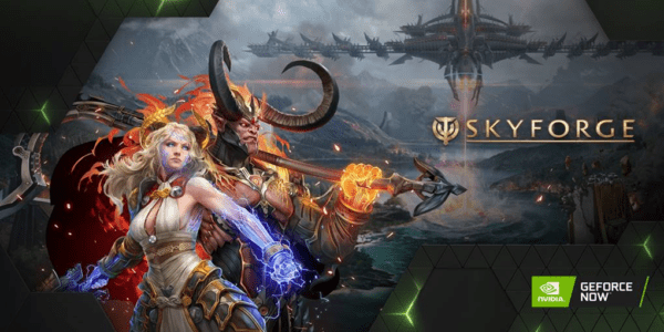 Skyforge NVIDIA Geforce Now