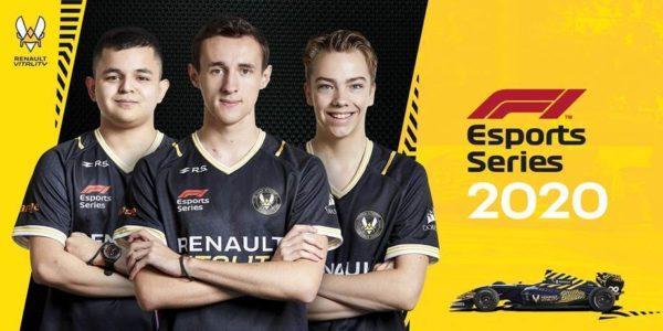 F1 Esports Series 2020 – Renault Vitality renforce son équipe