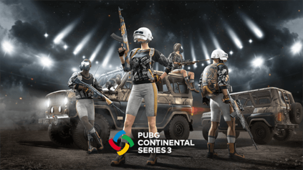 PUBG Continental Series 3 PCS3 Europe