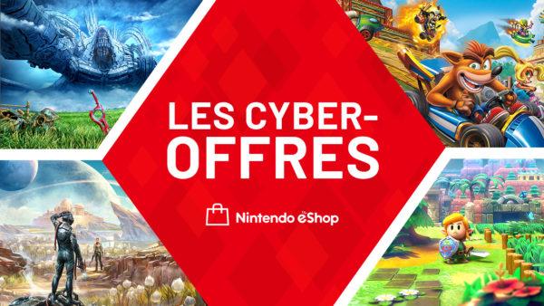 Nintendo eShop CYBER-OFFRES 2020