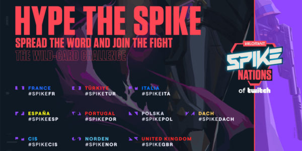 Valorant Spike Nations Twitch