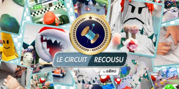 Le Circuit Recousu - GEMO x Rosbeef! - Mario Kart Live