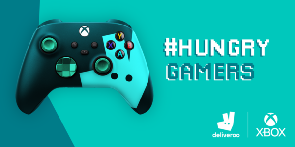 Hungry Gamers - XBOX et Deliveroo