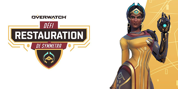 Overwatch - défi Restauration de Symmetra