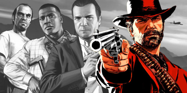 Grand Theft Auto V et Red Dead Redemption 2