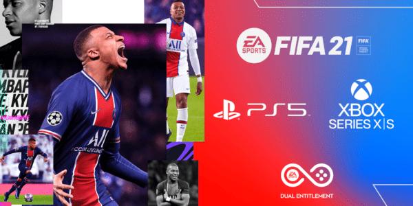 FIFA 21 PS5 XBOX Series X XBOX Series S