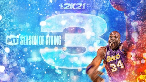 NBA 2K21 Season of Giving Saison 3 Mon ÉQUIPE