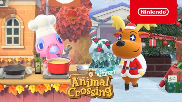 Animal Crossing: New Horizons Hiver Noël 2020