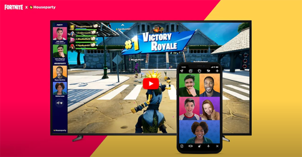 Houseparty Fortnite