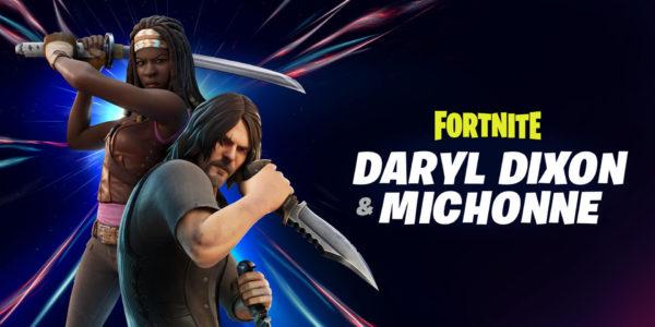 Fortnite x The Walking Dead - Daryl Dixon Michonne