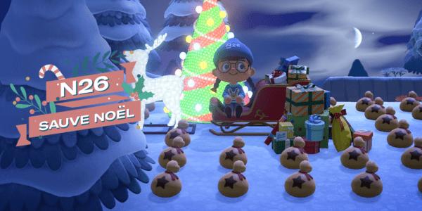 N26 x Swipe Back - Animal Crossing - N26 sauve Noël