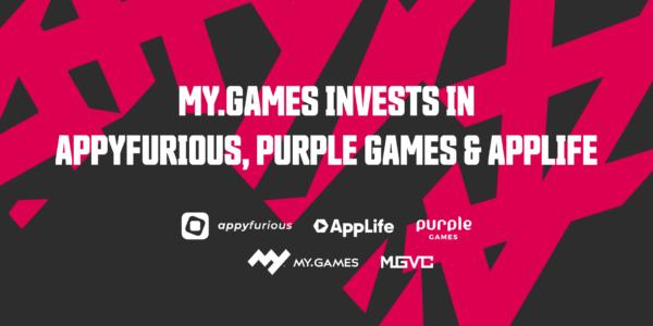 MY.GAMES x Appyfurious, Purple Games, AppLife