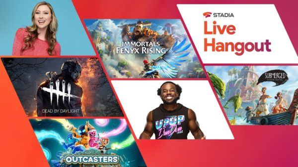 Holiday Live Hangout Google Stadia