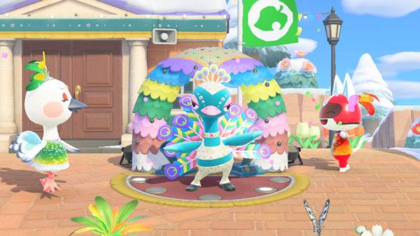 Animal Crossing: New Horizons Carnaval Janvier 2021