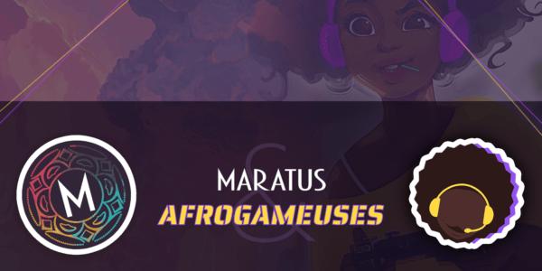 Afrogameuse x Maratus