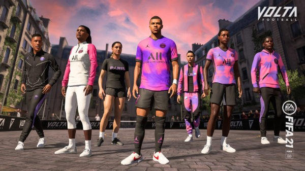 EA SPORTS x Paris Saint-Germain - 4e maillot PSG x Jordan - FIFA 21