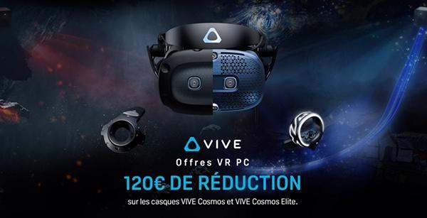 HTC VIVE - SOLDES HIVER 2021