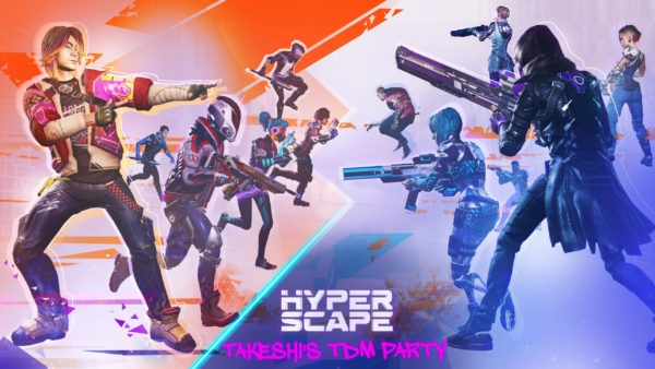 Hyper Scape - Takeshi's Team Deathmatch Party