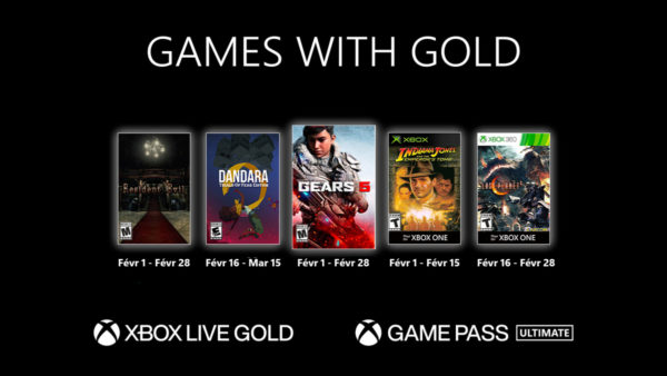 XBOX – Les Games with Gold de février 2021