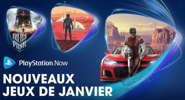 PlayStation Now PS Now Janvier 2021