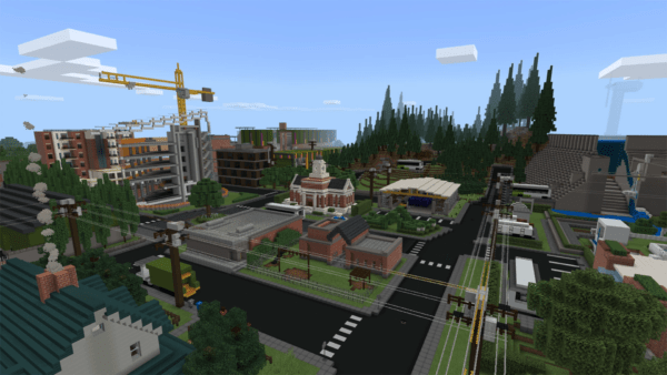 Minecraft Sustainability City