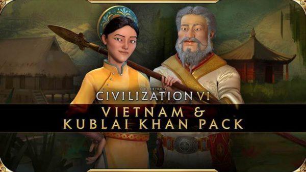 Civilization VI - Pass New Frontier - Le Pack Vietnam et Kubilai Khan