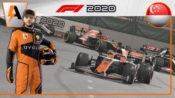 F1 2020 - My Team #16 : GARDER DES SLICKS SOUS LA PLUIE !?!