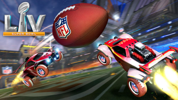 Rocket League x NFL Super Bowl LV