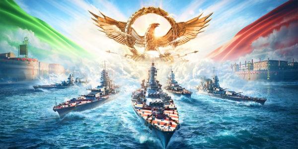 World of Warships - cuirassés italiens - 18 02 21