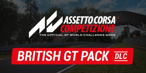 Assetto Corsa Competizione DLC British GT Pack
