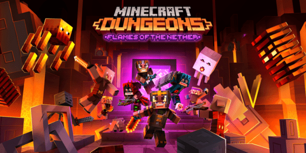 Minecraft Dungeons Les Flammes du Nether