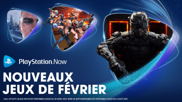 PlayStation Now - Février 2021
