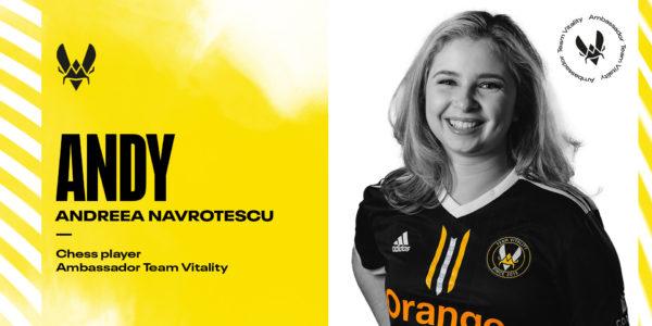"Andreea ""Andy"" Navrotescu x Team Vitality"