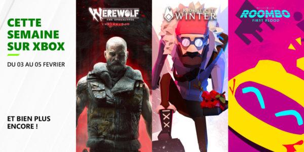 Cette semaine sur Xbox - Les jeux du 3 au 5 février