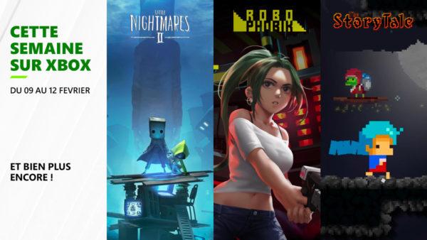 Cette semaine sur Xbox - Les jeux du 9 au 12 février 2021