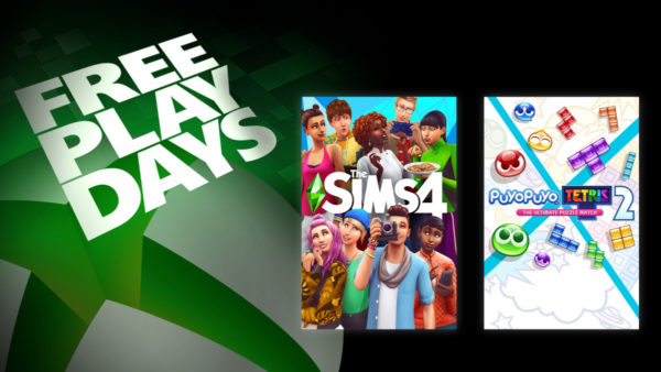 XBOX Free Play Days Février 2021