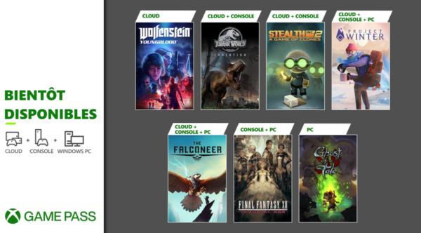 Xbox Game Pass Février 2021