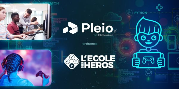 Cloud Gaming - GameStream x École des Héros - Pleio