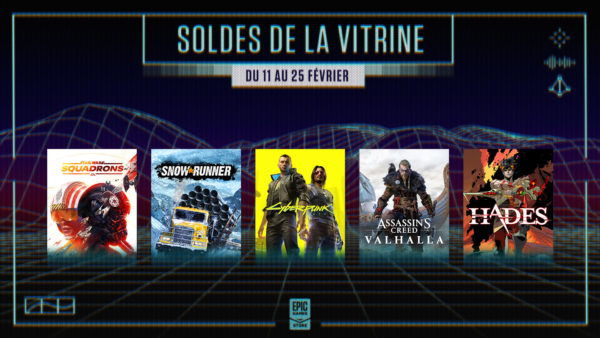 Epic Games Store - vitrine de printemps