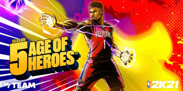 NBA 2K21 - Mon ÉQUIPE - Saison 5 : Age of Heroes