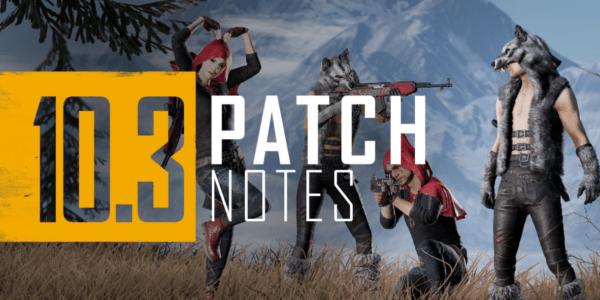 pubg 10.3 update